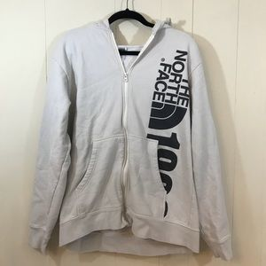 North Face 1968 White XL Hoodie With Pockets